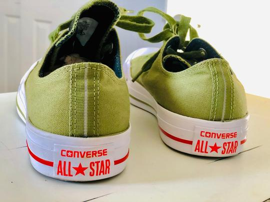 Converse Olive Green Athletic Image 1