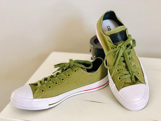 Converse Olive Green Athletic Image 2