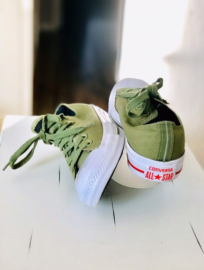 Converse Olive Green Athletic Image 4