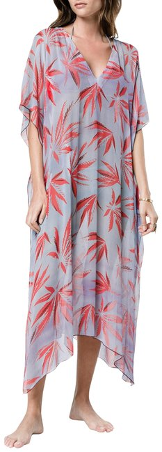 Item - Multiple XS S/Xs Semisheer Print Long Casual Maxi Dress Size 6 (S)