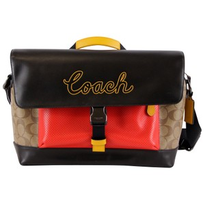 Coach Terrain Bike Khaki Messenger Bag