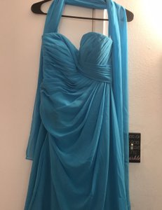 Mori Lee Extravaganza Feminine Bridesmaid/Mob Dress Size 6 (S)