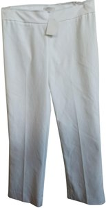 Avenue Montaigne Capri/Cropped Pants White