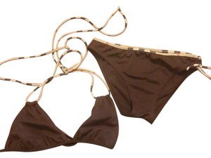 Burberry Burberry brown 2 piece swim