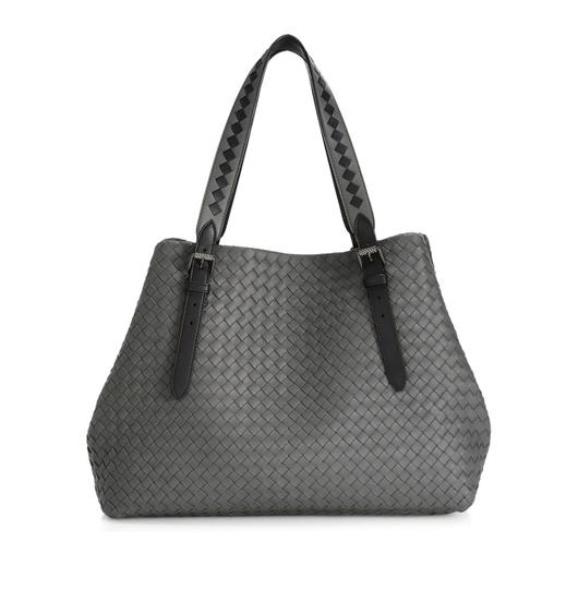 Preload https://img-static.tradesy.com/item/25333814/bottega-veneta-new-intrecciato-grey-leather-tote-0-0-540-540.jpg
