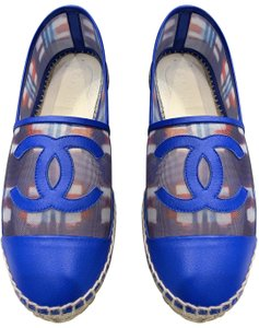 Chanel blue/white/red Sandals
