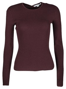 Alexander Wang Textured Knit Fitted Sweater