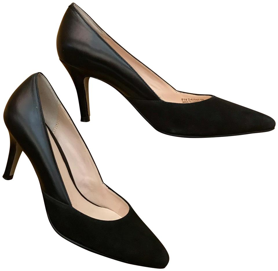 f6fc7ff2513 Cole Haan Black Grand Os Suede Leather Pumps Size US 6 Regular (M, B) 75%  off retail