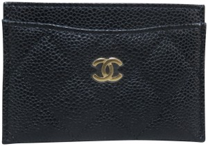 Chanel Chanel Caviar Quilted O-Card Holder