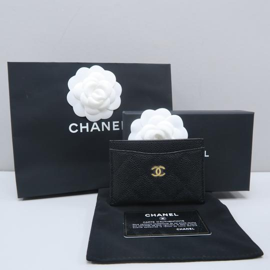 Chanel Chanel Caviar Quilted O-Card Holder Image 1