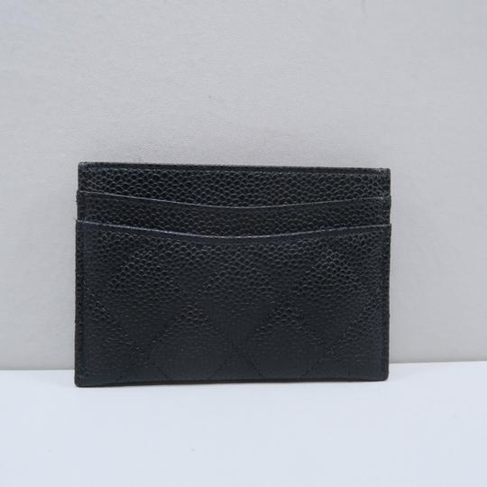 Chanel Chanel Caviar Quilted O-Card Holder Image 2