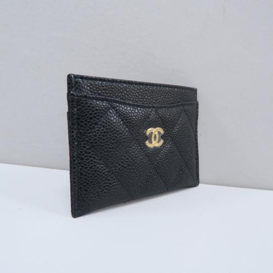 Chanel Chanel Caviar Quilted O-Card Holder Image 3