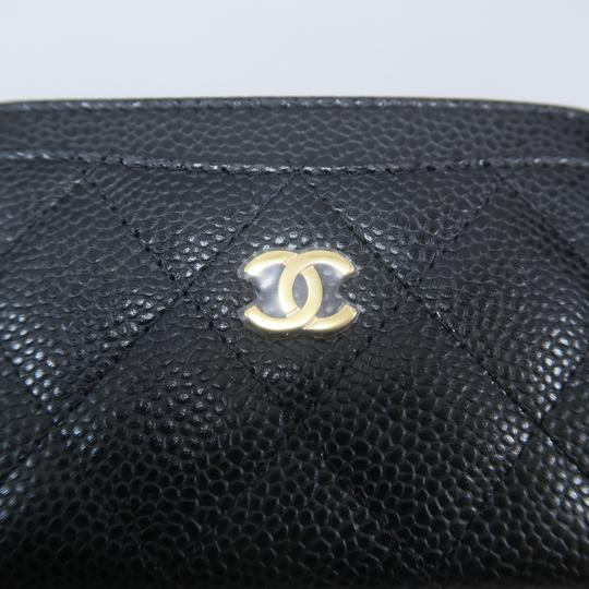 Chanel Chanel Caviar Quilted O-Card Holder Image 6