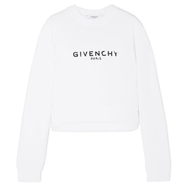 Preload https://img-static.tradesy.com/item/25334908/givenchy-distressed-logo-printed-cropped-sweatshirthoodie-size-8-m-0-0-650-650.jpg