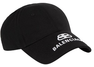 Balenciaga logo embroidered baseball hat