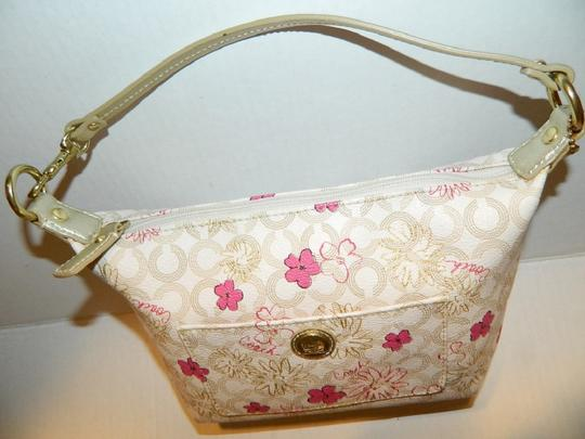 Coach Waverly Gift Idea Floral New Baguette Image 1