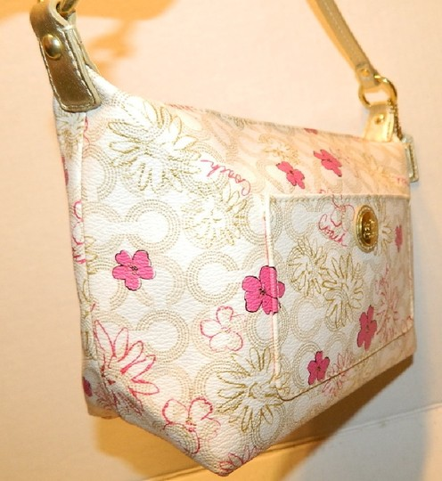Coach Waverly Gift Idea Floral New Baguette Image 10