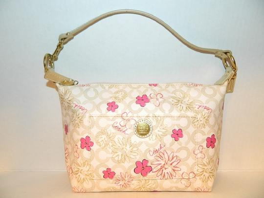 Coach Waverly Gift Idea Floral New Baguette Image 11