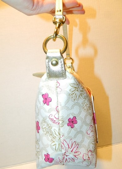Coach Waverly Gift Idea Floral New Baguette Image 3