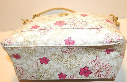 Coach Waverly Gift Idea Floral New Baguette Image 4