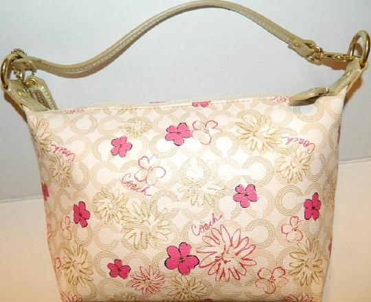 Coach Waverly Gift Idea Floral New Baguette Image 6
