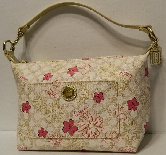 Coach Waverly Gift Idea Floral New Baguette Image 7