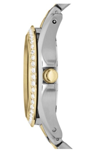 Fossil RILEY MULTIFUNCTION TWO-TONE STAINLESS STEEL WATCH Fossil RILEY MULTIFUNCTION TWO-TONE STAINLESS STEEL WATCH Image 1