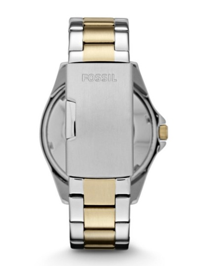 Fossil RILEY MULTIFUNCTION TWO-TONE STAINLESS STEEL WATCH Fossil RILEY MULTIFUNCTION TWO-TONE STAINLESS STEEL WATCH Image 2
