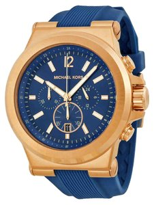 Michael Kors Dylan Arabic Numeral Chronograph Gold S-Steel Quartz Round Men's Watch