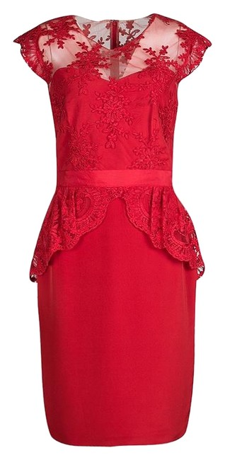 Preload https://img-static.tradesy.com/item/25335066/marchesa-notte-red-scarlet-embroidered-lace-peplum-mid-length-formal-dress-size-8-m-0-1-650-650.jpg