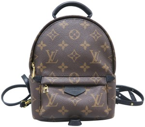 277c7ae5e121 Louis Vuitton Lv Palm Springs Mini Monogram Canvas Backpack