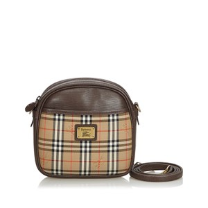 79f6a0ee26a6 Burberry 9cbush071 Vintage Canvas Leather Cross Body Bag · Burberry. Fabric  House Check United Kingdom Brown ...