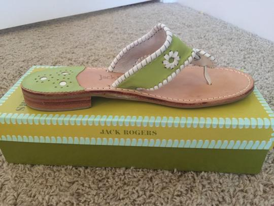 Jack Rogers lime/white Sandals Image 1