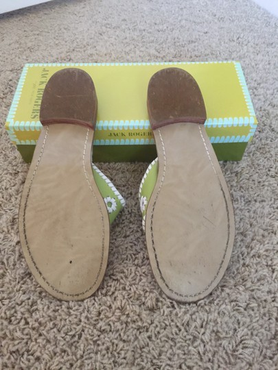 Jack Rogers lime/white Sandals Image 2