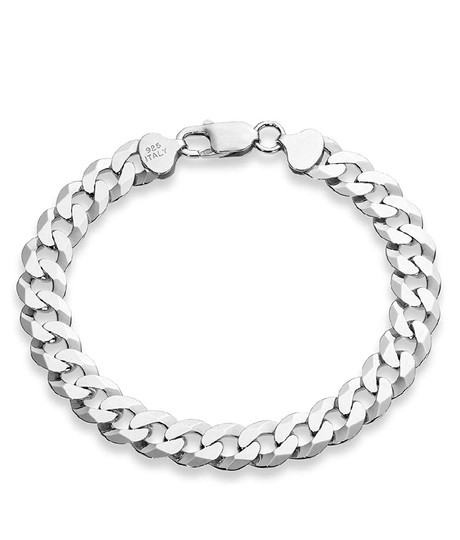 Other CUBAN MEN'S CURB 8MM/8 INCH LINK BRACELET Image 1