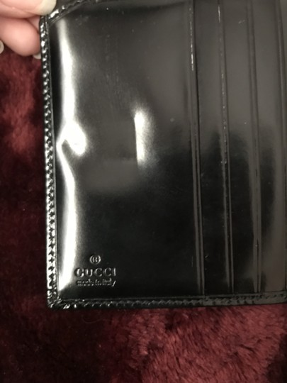 Gucci Patent Leather wallet 1990'S vintage Image 7
