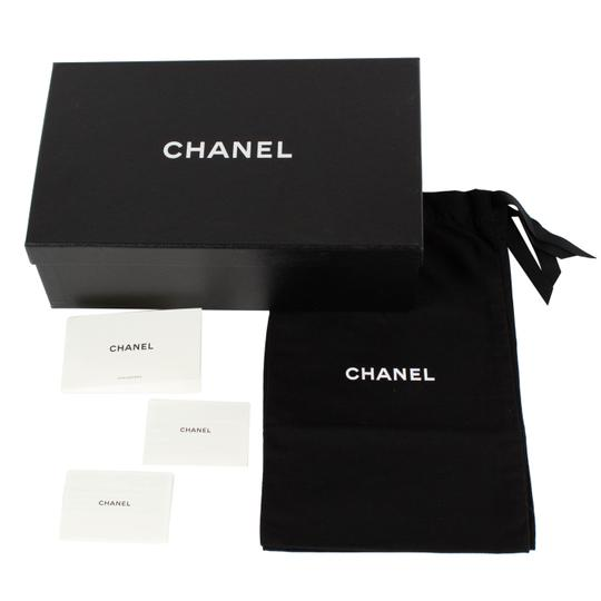 Chanel Tweed Leather Cap Toe Logo Multi-Color Athletic Image 7