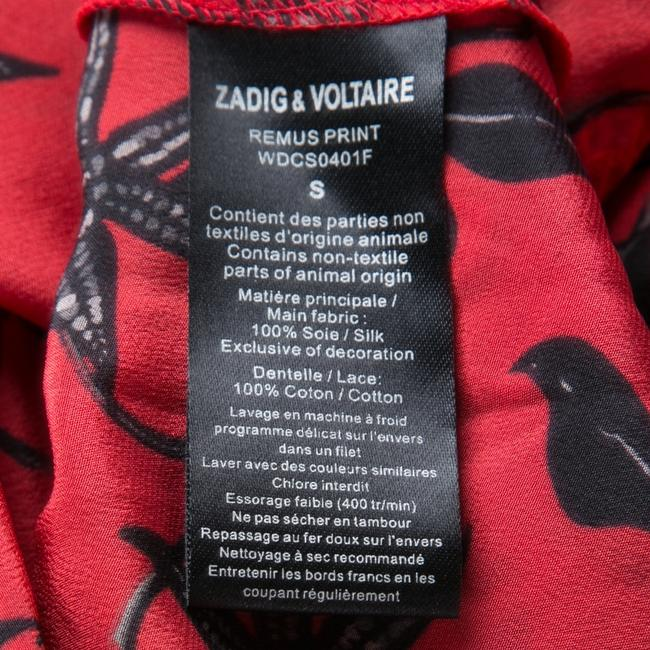 Zadig & Voltaire short dress Red Silk Cotton on Tradesy Image 4