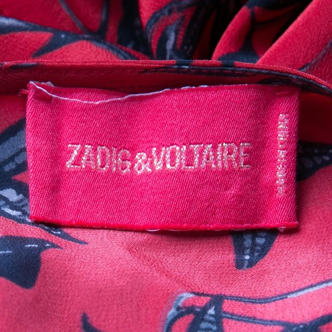 Zadig & Voltaire short dress Red Silk Cotton on Tradesy Image 5