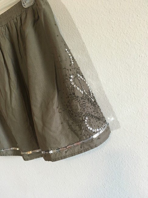 Gap Mini Skirt Green, Silver Image 2