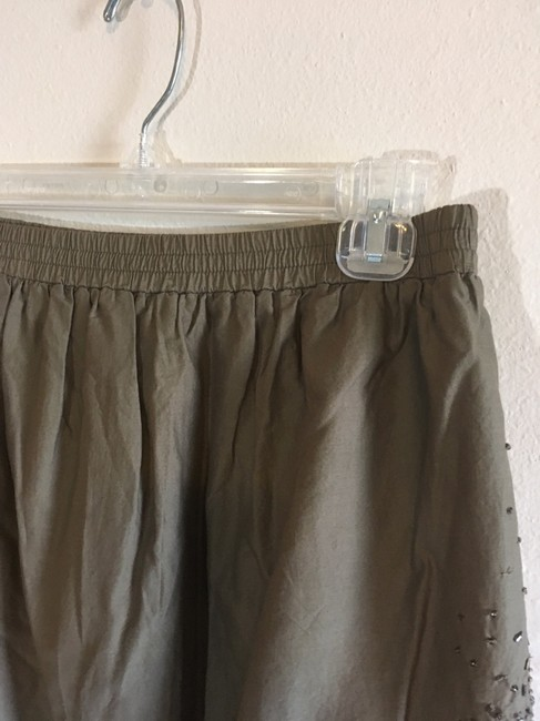 Gap Mini Skirt Green, Silver Image 4