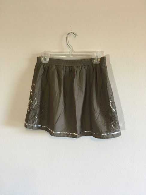 Gap Mini Skirt Green, Silver Image 8