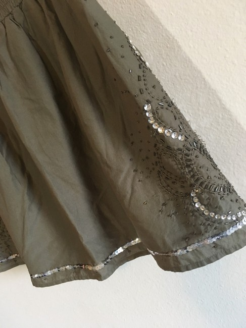 Gap Mini Skirt Green, Silver Image 9