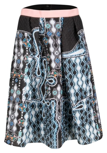 Preload https://img-static.tradesy.com/item/25335843/peter-pilotto-black-3d-waffle-texture-printed-circle-skirt-size-8-m-29-30-0-1-650-650.jpg