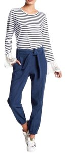 Fever Track Track Joggers Relaxed Pants Blue Black