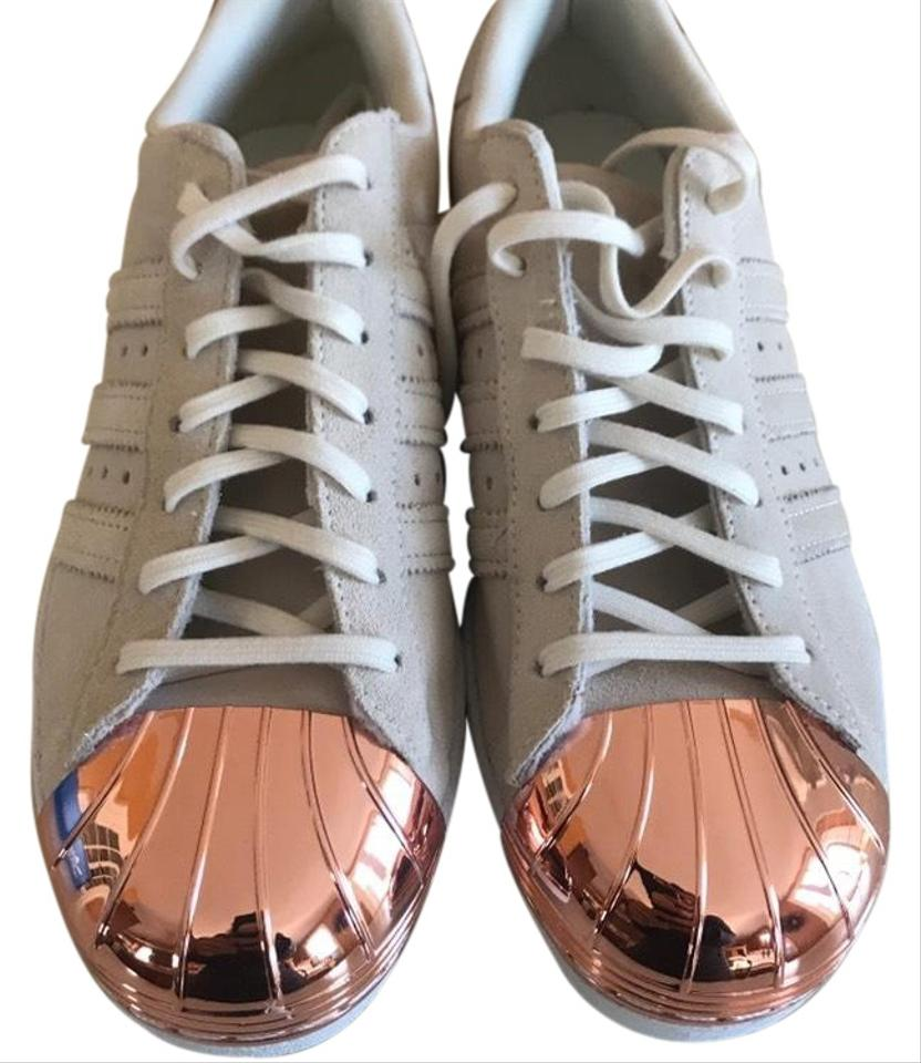 more photos a54ad 0ccec adidas Off White + Rose Gold Superstar 80s Metal Sneakers Size US 7.5  Regular (M, B) 16% off retail