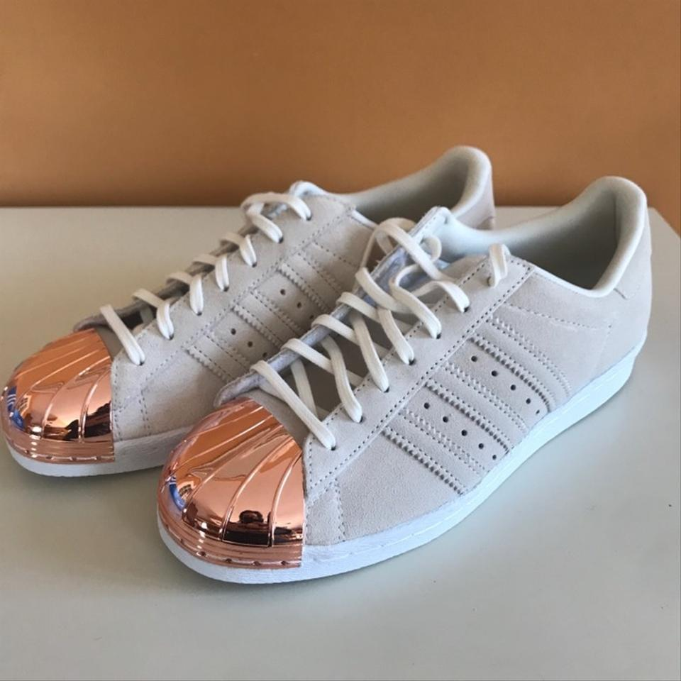 more photos 75dc6 71a52 adidas Off White + Rose Gold Superstar 80s Metal Sneakers Size US 7.5  Regular (M, B) 16% off retail