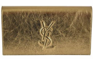 5a18a2eb066c8b Saint Laurent Belle De Jour Ysl Purse Purse Gold Clutch