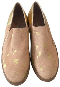 Free People golden Flats