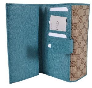 Gucci New Gucci 231841 GG Guccissima Continental Wallet W/Coin Pocket